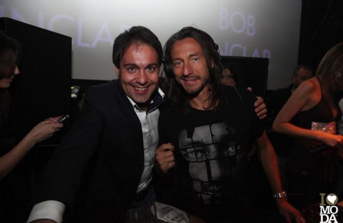 Roberto Rizzo con Balotelli e amici - Roberto Rizzo con Bob Sinclair