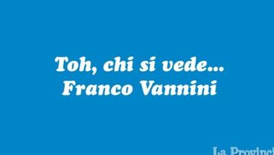 Intervista a Franco Vannini