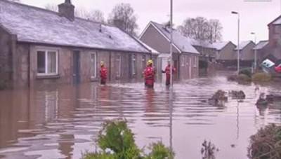 Gb: ancora alluvioni, case evacuate in Scozia
