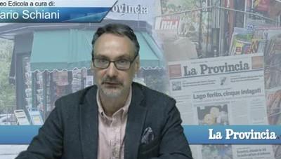 Video Edicola/Prima Pagina del 14 ottobre 2016