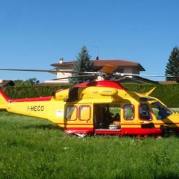 Bellagio, malore al grand hotel  Turista soccorsa con l'elicottero
