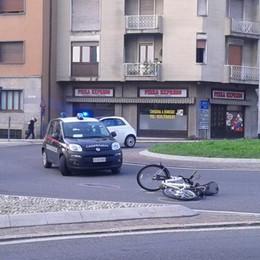 Donna in bicicletta  investita a Mariano