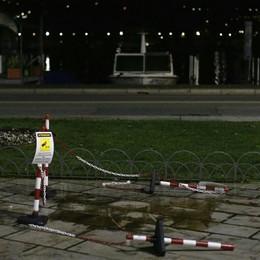 Il  Pinocchio sparito da piazza Cavour  riappare nel pomeriggio a Lariofiere