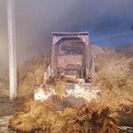 Corrido, cascinale del sindaco  dato alle fiamme nella notte