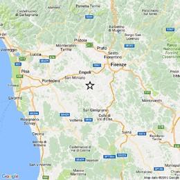 Terremoto 3.9 in provincia di Firenze