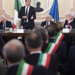 Renzi, via squilibri o veto bilancio Ue