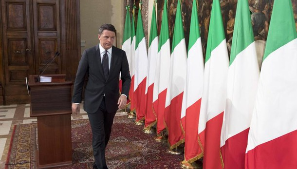 Terremoto, la conferenza stampa di Matteo Renzi: