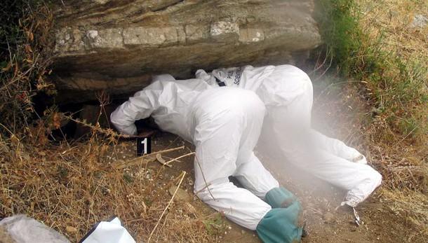 Cimitero mafia scoperto nel palermitano