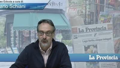 Video Edicola / Prima Pagina del 8 ottobre 2016