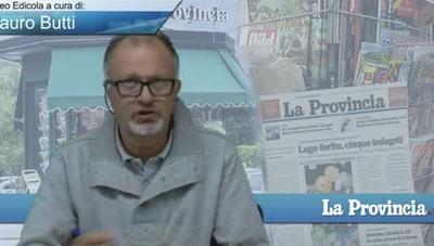 Video Edicola/Prima Pagina del 9 ottobre 2016