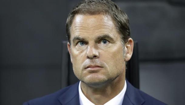 Inter, via De Boer. Ecco il nuovo allenatore