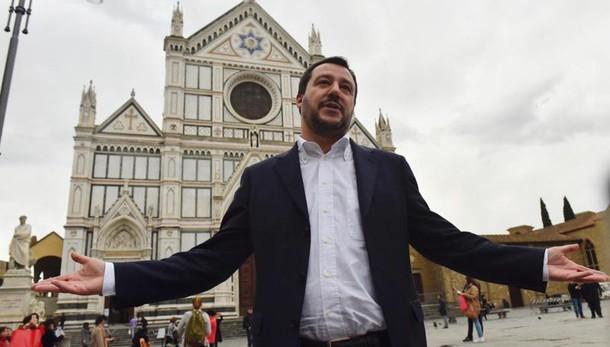 Salvini sogna un futuro da Trump: