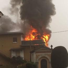 Fino, sgomberata una famiglia  «Troppo gravi i danni al tetto»