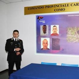 Alto lago, rapine in poste e in banca Tre arresti dei carabinieri (video)