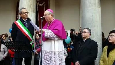 Oscar Cantoni vescovo, il saluto alla citt