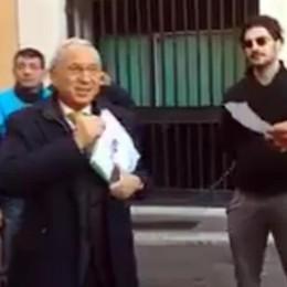 Aggressione all'ex deputato  Denunciato un comasco