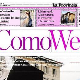 L'inserto Weekend: domani otto pagine con La Provincia