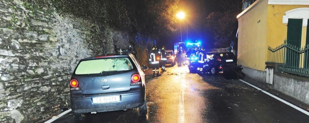 Frontale a Blevio, muore artigiano di Bellagio