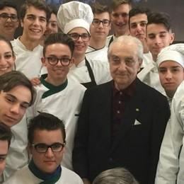 RistorExpo, la fiera del gusto  La sorpresa: Gualtiero Marchesi