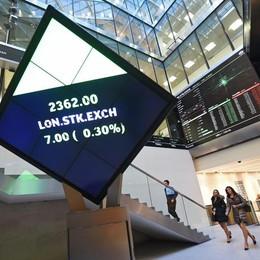 Borsa Londra chiude in netto calo, -2,7%