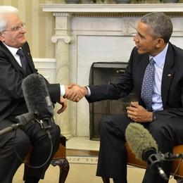 Libia: Mattarella, Italia-Usa decisivi
