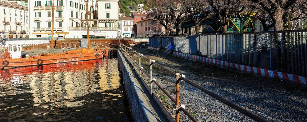 Paratie, Lucini dopo l'incontro in Regione «Ribadita la necessità dell'opera»
