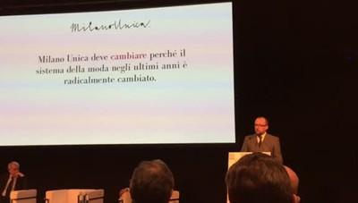 Milano unica deve cambiare