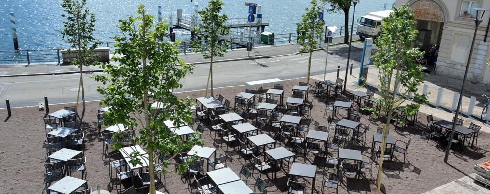 Como ok ai tavolini in piazza de gasperi ma il comune ne autorizza 68 in meno como citt como - De gasperi santa maria di sala ...