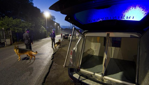 Ostia - Blitz sul litorale romano, dieci arresti