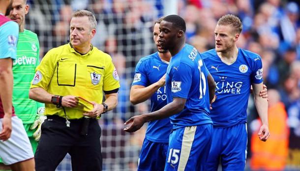 Premier League: Leicester-West Ham 2-2, Vardy fa e (quasi) disfa