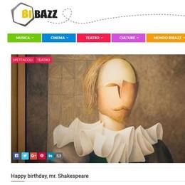Quattrocento anni con Shakespeare Il Bardo-day è su Bibazz