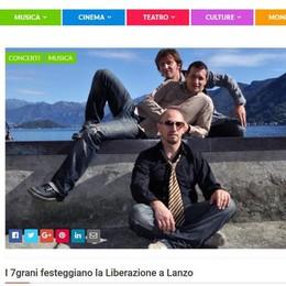 Comincia la Liberazione  Bibazz: i 7grani a Lanzo