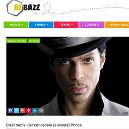 Dieci motivi per amare Prince   Bibazz racconta il principe perduto
