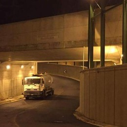 """Il sottopasso chiude tutte le barriere   Sarà un sabato """"storico"""" per Rovello"""
