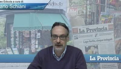 Video Edicola/Prima Pagina del 29 aprile 2016
