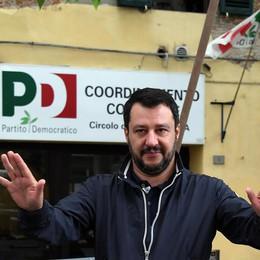 Salvini, Renzi telecomanda 90% stampa