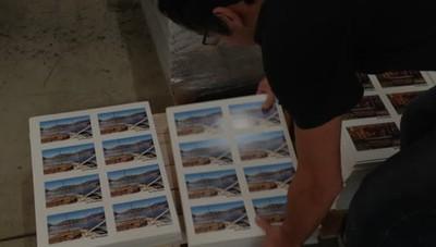 Così nascono le cartoline