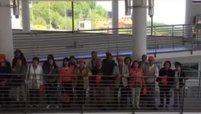 Il coro giapponese al Ghisallo