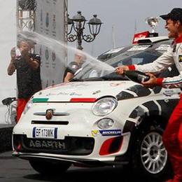 Fusi, dal talent al rally  «Sogno di correre il Como»