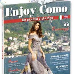 In edicola Enjoy Como  La rivista del turismo  La canzone dei Voxa