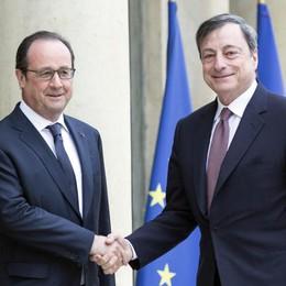 Brexit:Draghi,Pil eurozona impatto -0,5%