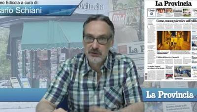 Video Edicola/Prima Pagina del 30 giugno 2016