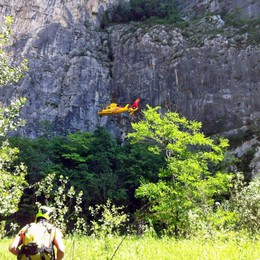 Base jumper muore in Trentino, a Dro