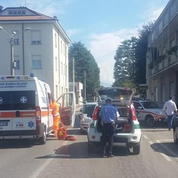 Incidente a Mariano Comense  Donna investita mentre attraversa