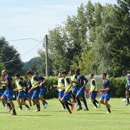 Il Como è tornato ad Orsenigo  Domenica esordio in Coppa Italia