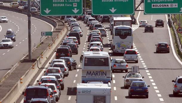 Ferragosto: mattina di traffico intenso