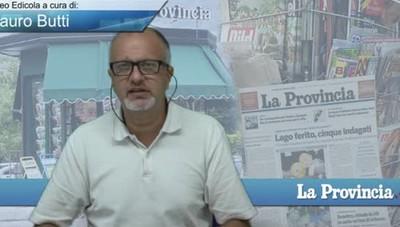 Video Edicola/Prima Pagina del 21 agosto 2016