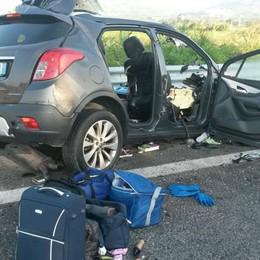 Frontale auto-tir, tre vittime