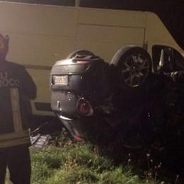 Monguzzo, auto contro furgone Tre feriti in ospedale