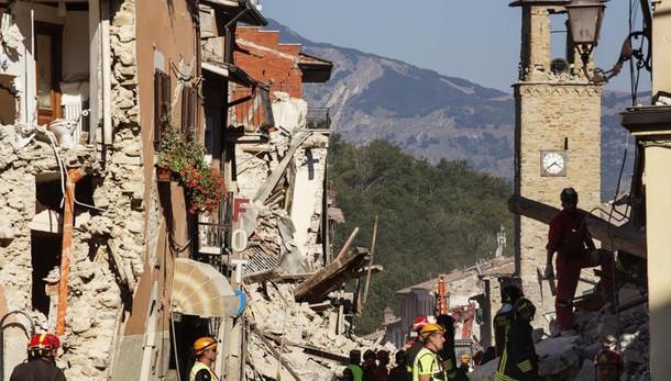 Sisma centro Italia, ultimo aggiornamento Protezione civile